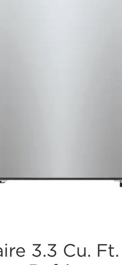 Frigidaire Mini Fridge- 3.3 Cu Ft. Stainless Steel for Sale in Chicago,  IL