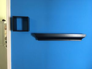 Black decorative gallery wall shelves for Sale in Lutz, FL