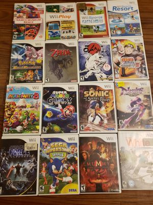 Nintendo wii games for Sale in Tampa, FL