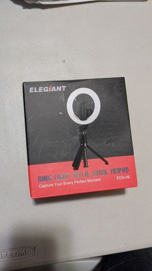 Ring light selfie stick for Sale in Stockton, CA