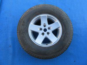 """17"""" Jeep Wrangler rim wheel tire SINGLE #6263 for Sale in Aventura, FL"""