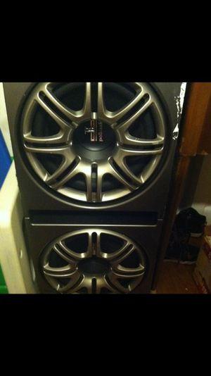 Polk audio 12's in Polk box for Sale in Salem, MA