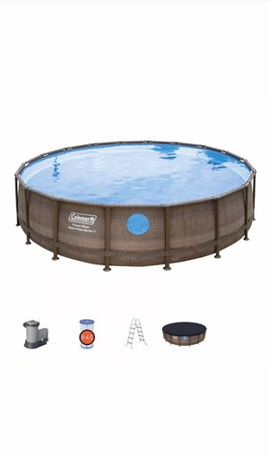 NEW Coleman 22 ft x 52 inch Power Steel Swim Vista II Swimming Pool Above Ground New for Sale in Kennedale, TX