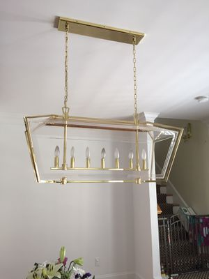 Robert Abbey 7 light chandelier for Sale in Concord, MA