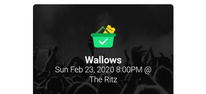 Wallows tickets 2 for Sale in Richmond, VA