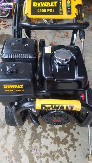 Dewalt power washer 4200psi for Sale in Fairfax, VA