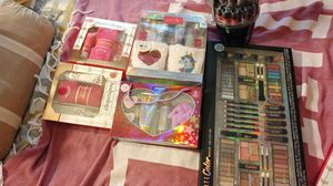 Make up nail polish set perfumes lotions for Sale in McCleary, WA