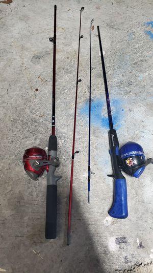 Kids fishing poles x2. Needs fix. for Sale in San Ramon, CA