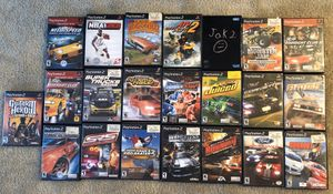 PS2 Games 62 PLEASE READ THE DESCRIPTION for Sale in Fuquay-Varina, NC