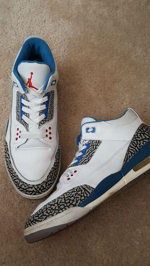 Air Jordan 3s True Blue for Sale in Clovis, CA
