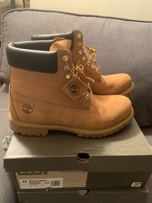 "6"" Timberland Wheat Size 13 Worn 3x for Sale in Bronx, NY"