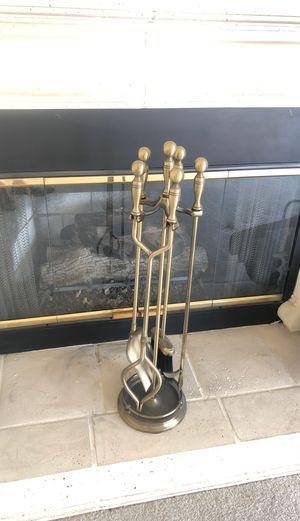 FirePlace Tools Heavy Duty Brass Metal for Sale in Las Vegas, NV