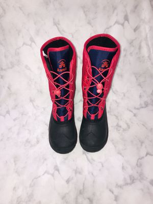 Kamik Snow Boots Pink Girls Size 2 for Sale in Highlands Ranch, CO