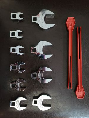 """Snap On Crow Feet Open End Wrench 3/8"""" DriveSet for Sale in South Riding, VA"""