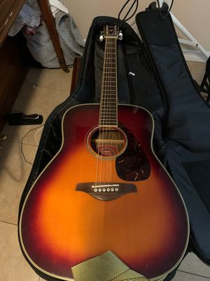 Yamaha FG735S acoustic guitar for Sale in Orlando, FL