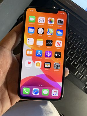 64GB ATT/Cricket iPhone X for Sale in Raleigh, NC