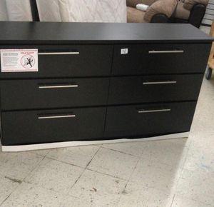 Black Dresser New ~ Comoda ~ Gavetero Negro Nuevo (BLACK or WHITE) for Sale in Southwest Ranches, FL