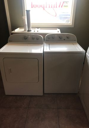 WHIRLPOOL DRYER AND WASHER DOR SALE!! for Sale in Phoenix, AZ