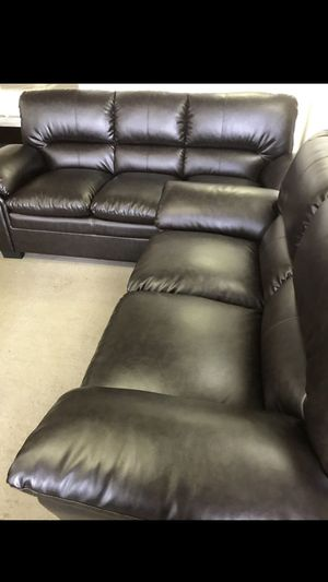 Leather 2 Piece Sofa Set for Sale in Atlanta, GA