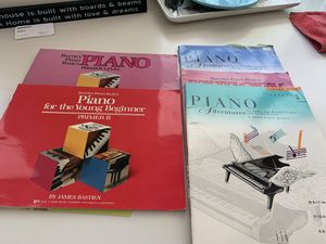 Free beginner piano books for Sale in Clearwater, FL