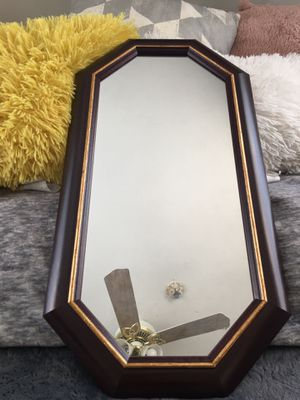 "Authentic "" Wall Octagonal Frame Mirror"" New In box for Sale in Los Angeles, CA"