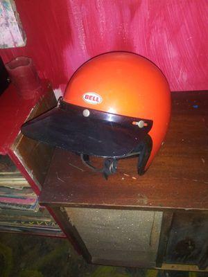 Vintage Bell 1970s motorcycle helmet for Sale in Johnson City, TN