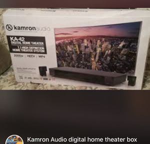 Kamron audio digital home theater box for Sale in Silver Spring, MD