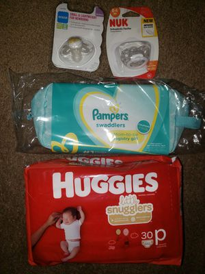Preemie Diapers, Misc Baby Things for Sale in Fresno, CA