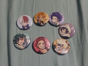 7 BNHA/MHA buttons for Sale in BETHEL, WA