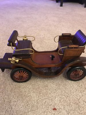 Decorate Wooden handmade carriage , new , price is cheap, be fast.. for Sale in Falls Church, VA