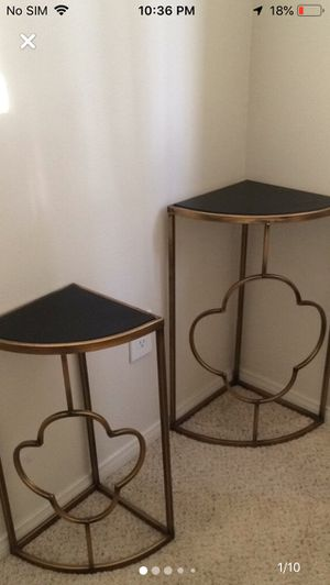 Set Of 2 Accent Tables! Good Condition! Come pick up ASAP!! for Sale in Los Angeles, CA