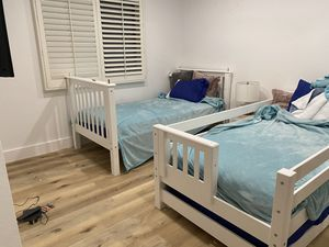 Brand new white bunk beds for Sale in Laguna Beach, CA