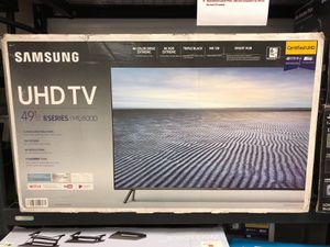 "SAMSUNG UN49MU800D 49"" 4K PREMIUM UHD HDR LED SMART TV 240HZ 2160P *FREE DELIVERY* for Sale in Everett, WA"