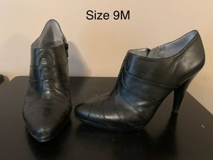 Calvin Klein black heels/booties for Sale in Walton, KY