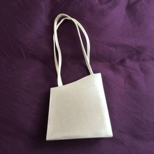 Metallic silver formal event bag for Sale in Framingham, MA