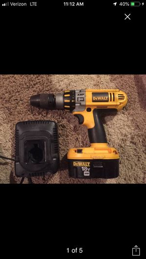 Dewalt DC925 XRP cordless hammer drill, battery charger, and heavy duty hard side case. for Sale in Minneapolis, MN