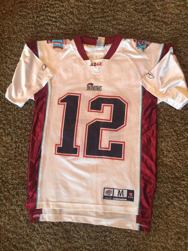 Official Super Bowl 42 NE Patriots Brady Jersey