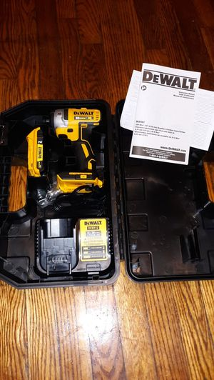 Dewalt power drills new never used with 2 battery and charger BRUSHLESS motor xR for Sale in UPPR MARLBORO, MD