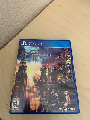 Ps4 game kingdom hearts 3 for Sale in Chula Vista, CA