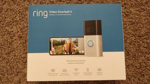 New! Ring Video Doorbell 3 HD Video & Night Vision! for Sale in Anaheim, CA