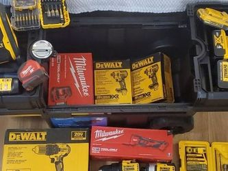 Dewalt, Milwaukee and, Makita Tools and Bits for Sale in Nashville,  TN