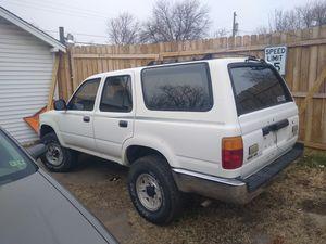 1991 Toyota 4Runner 4 x 4 great trucks will run forever.... for Sale in Wichita, KS