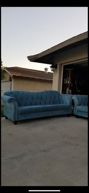 Used but not a lot is very clean And good quality couch is all together no Bello for Sale in Riverside, CA