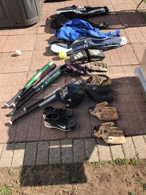 Baseball equipment for Sale in West Hartford, CT