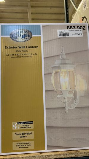 Exterior wall lantern for Sale in Phoenix, AZ