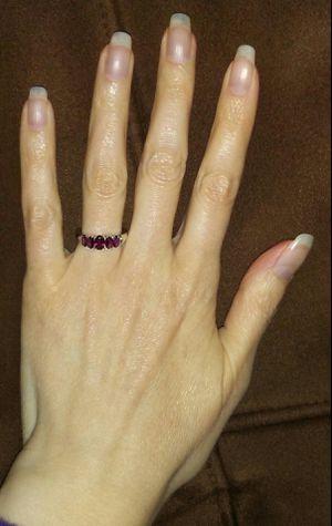 Stunning Sterling Silver Genuine Rhodolite Garnet Ring!!! for Sale in Vancouver, WA