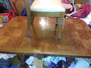 Antique table six chairs for Sale in Philadelphia, PA
