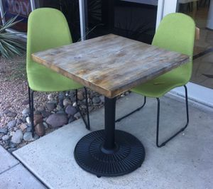 "New! Vintage 28"" Square Bistro Table, for Sale in Scottsdale, AZ"