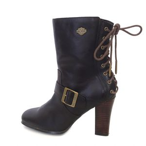 7.5 Harley Davidson Leather Lace Up Boots for Sale in Tampa, FL