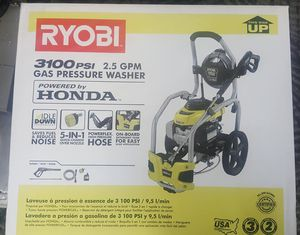 RYOBI 3100PSI GAS PRESSURE WASHER for Sale in Pittsburgh, PA
